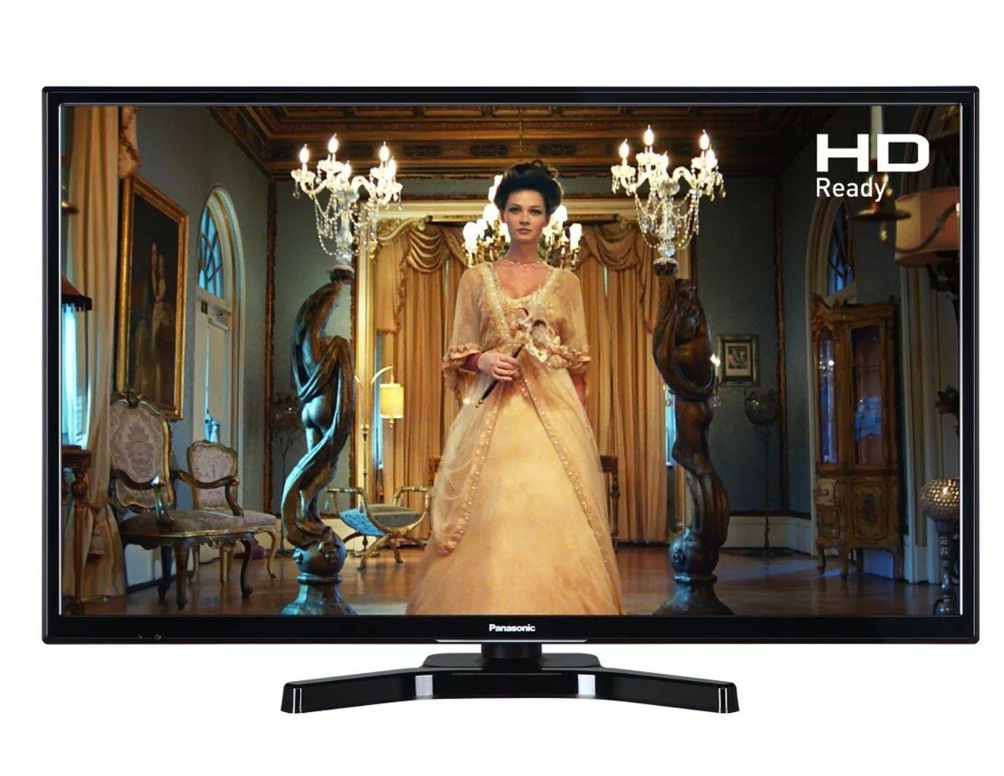 Refurbished Panasonic TX-24E302B 24 Inch HD Ready LED TV Freeview HD USB Playback Black £69.99 @ Panasonic on eBay