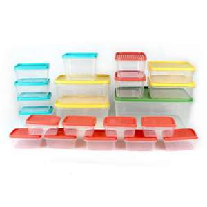 21 Piece BPA Free Plastic Food Storage Containers £5 - (Free Click & Collect) @ Dunelm