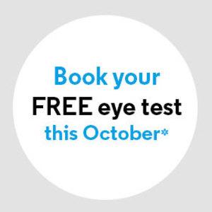 Free eye test at Optical Express.