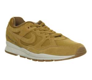 Nike Air Span II Trainers Wheat Light Bone Gum £40 at Office Shoes