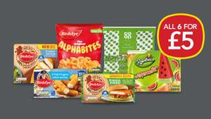 Co-op Freezer fillers All for £5 @ Co-op discount offer