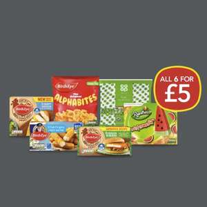 Co-op Freezer fillers All for £5 @ Co-op