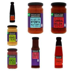 Cooks' Ingredients Sauces & Pastes from 57p @ Waitrose