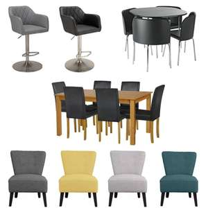 Up to 25% Discount on Selected Furniture - Maine Coffee Table £17.49 / Amparo Dining Table & 4 Chairs £89.99 + nectar Points Promo @ Argos