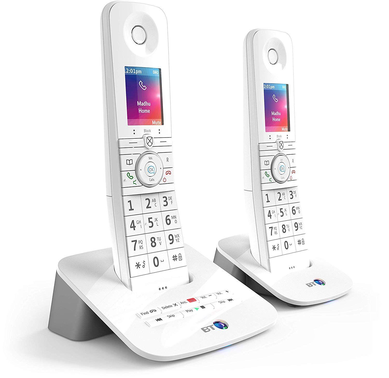 BT Premium Cordless Home Phone Twin Handset Pack - £59.99 @ Amazon