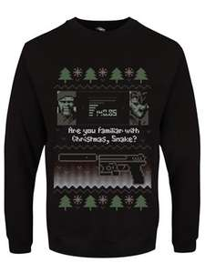 Metal Gear Solid Christmas Jumper £24.98 delivered Grindstore (£22.80 with 10% with Student Beans or Newsletter Sign-up)