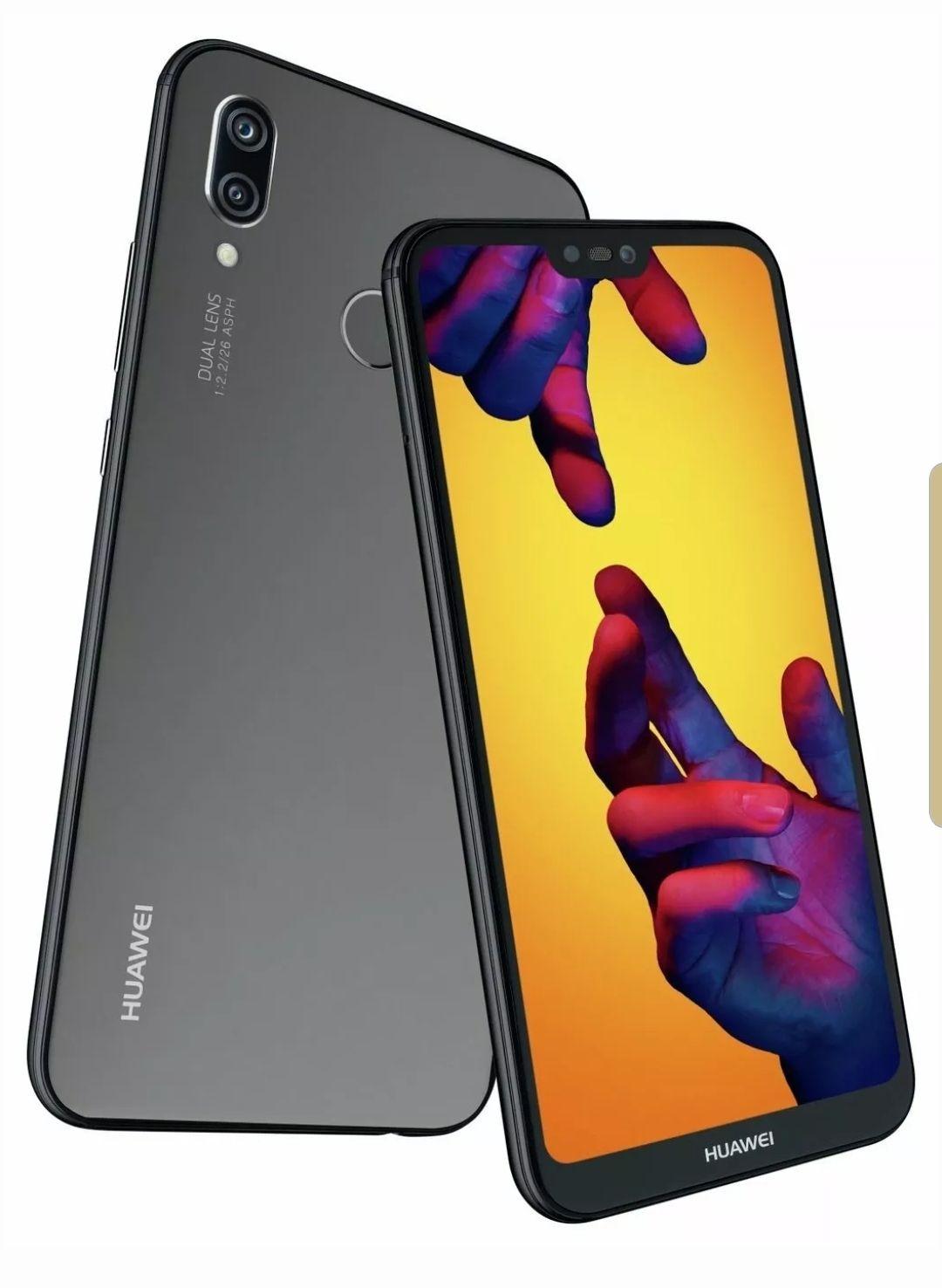 Sim Free Huawei P20 Lite 5.84 Inch 64GB Mobile Phone (Refurbished) - Black @ Argos Ebay store - £121.99