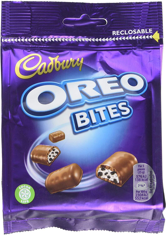 Cadbury Oreo Bites, 95 g, Pack of 10 - £6.25 Prime / +£4.49 non Prime @ Amazon