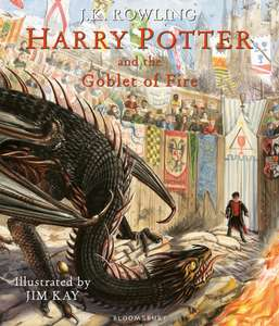 Harry Potter and the Goblet Of Fire Illustrated Edition - £15.99 instore @ Sainsbury's