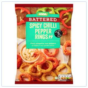Asda spicy chilli pepper rings 25p instore @ Asda Perry Barr