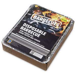 Barbecue days Disposable Instant BBQ 39p instore at Aldi