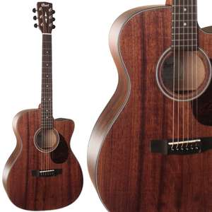 Cort AS OC4 All Mahogany Electro Acoustic Guitar With Fishman Sonitone EQ System + Hard Case £349 Delivered @ Kenny's Music