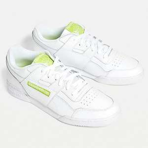 Reebok Workout Plus White and Lime Trainers £17.50 (+£3.99 delivery or free over £30) @ Urban Outfitters