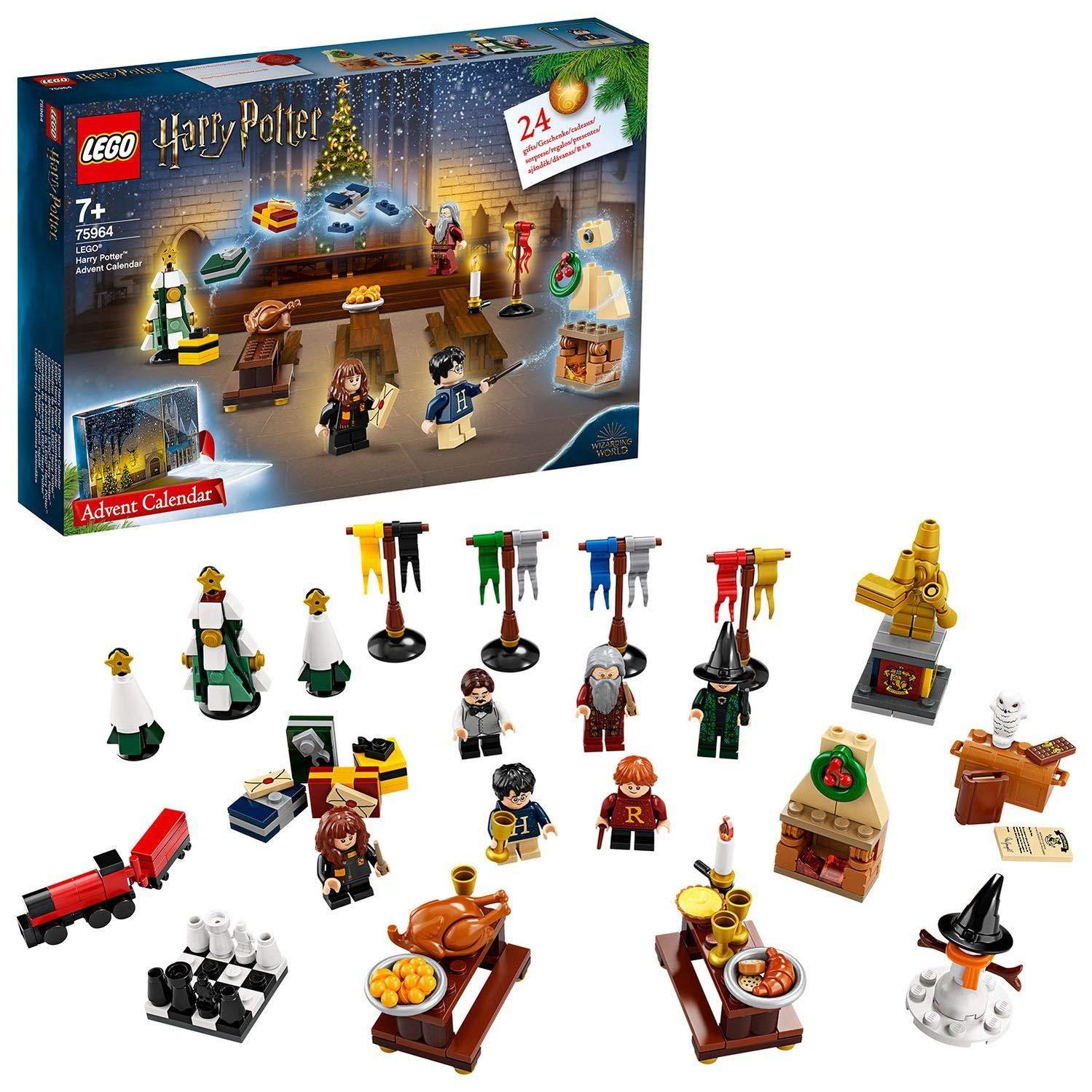 LEGO 75964 Harry Potter Advent Calendar 2019 with 7 Minifigures £19.19 at Amazon Prime / £23.68 Non Prime