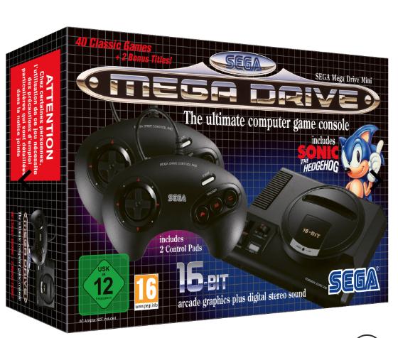 Sega megadrive mini + free t-shirt £69.99 @ Iwantoneofthose