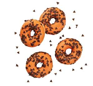 New limited offer lines at Lidl Bakery from 10.10.19 e.g Halloween doughnut 35p