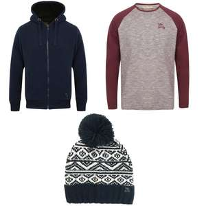 Men's Borg Lined Hoodie + Free Top + Free Hat for £24.99 @ Tokyo Laundry
