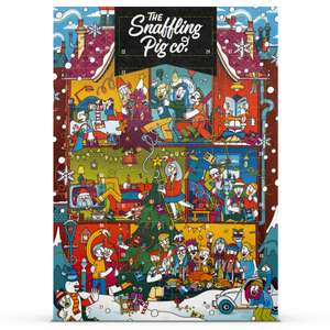 The Snaffling Pig Pork Crackling Advent Calendar - 2019 £14.99 Delivered with code (2 for £25) @ IWOOT