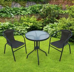 3 piece outdoor bistro set £29.99 @ Poundstretcher - Pontardawe