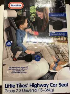 Little Tikes Highway Car Seat - £10 instore @ Tesco (Liverpool Park Road)