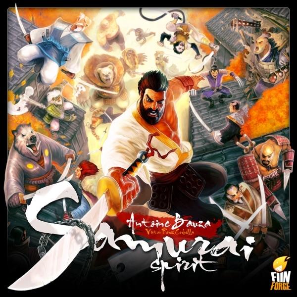 Samurai Spirit Board Game - 365 Games - £17.09