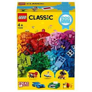Buy one get one free on toys - includes 900pc classic Lego set £25 @ Morrisons instore
