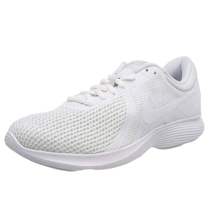 Nike mens revolution 4 running shoe size 7.5 £21 (White) @ Amazon