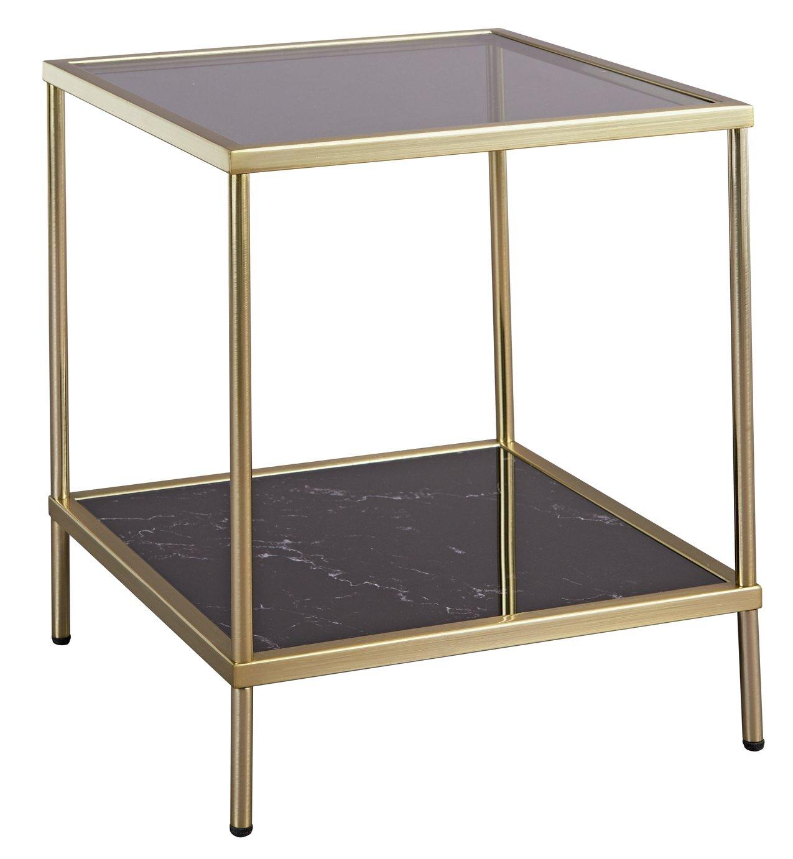 Midnight Opulence End Table - Bronze - £39.99 //  Midnight Opulence Coffee Table - Bronze - £64.99 @ Argos free C&C