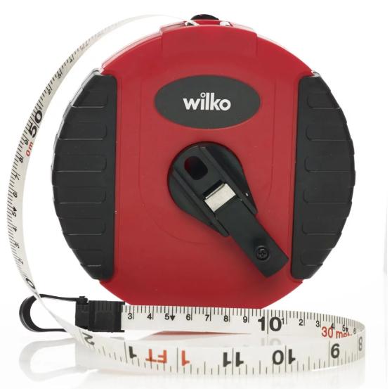 Fibreglass Tape Measure 30m £1.88 @ Wilko
