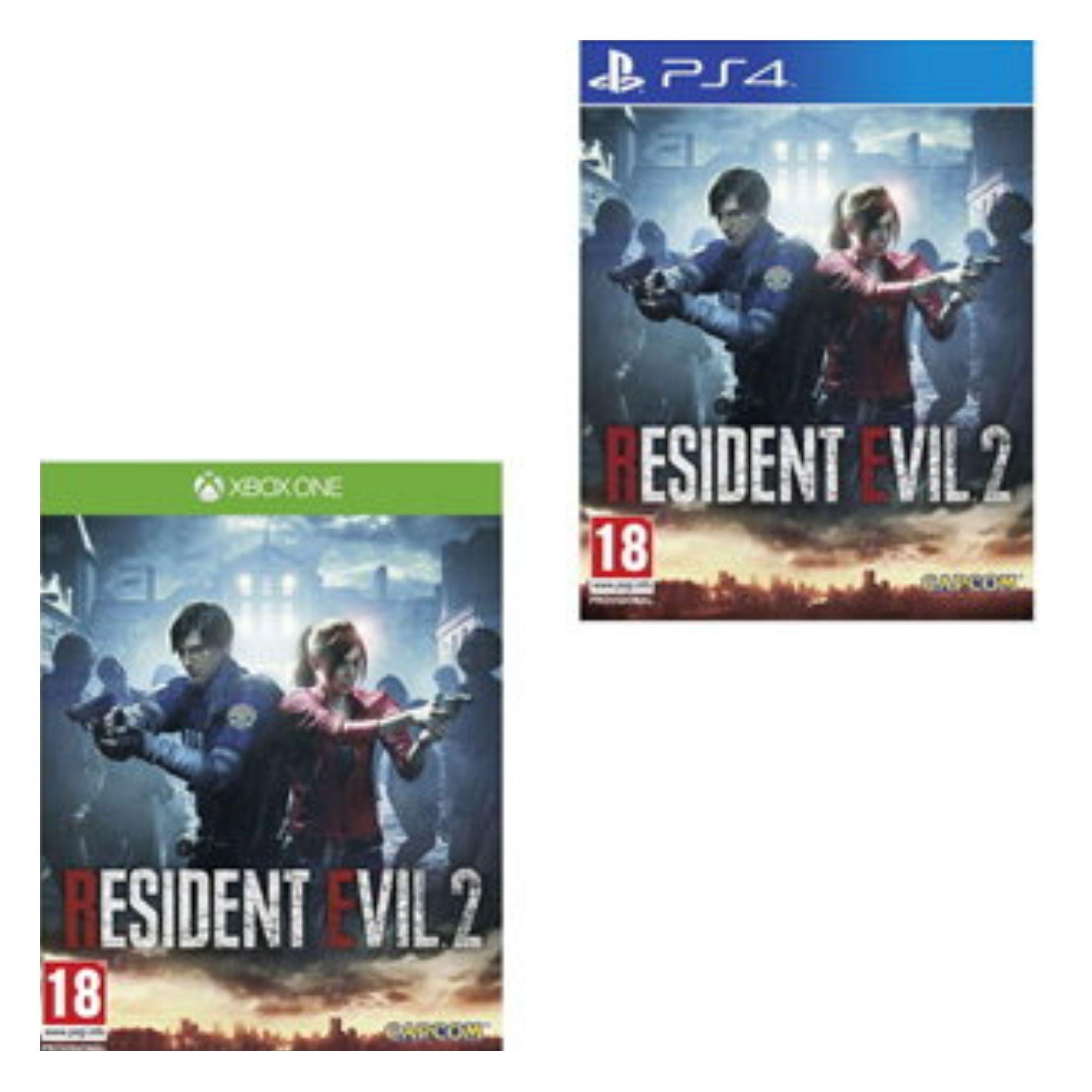 [Xbox One/PS4] Resident Evil 2 Remake - £18.85 delivered @ Base