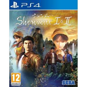 Shenmue I & II (PS4) £12.95 Delivered @ The Game Collection