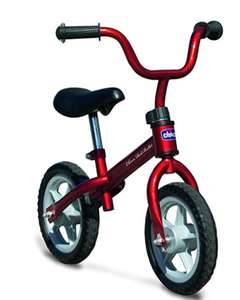 Chicco Red Bullet Balance Bike Set- red/pink £25.95 at Amazon