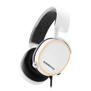 SteelSeries Arctis 5 White Gaming Headset (2019 Edition) - £71.99 + £5.48 delivery @ Scan