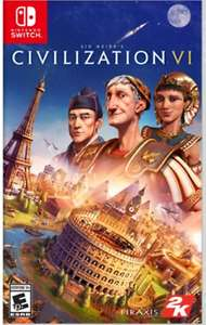 [Nintendo Switch] Civilization VI 6 - £25.95 Delivered @ evergameuk/ebay discount offer  image 1
