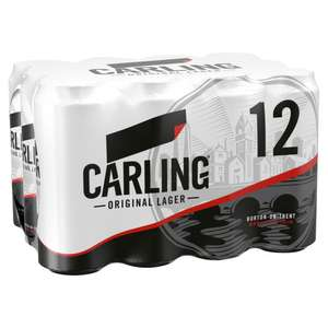 12x440ml Carling Beer - £8 Instore @ Tesco (Leicester)
