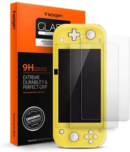 Spigen 2 Pack Tempered Glass Screen Protector for Nintendo Switch Lite £2.50 Prime (+£4.49 non prime) Sold by Spigen and Fulfilled by Amazon