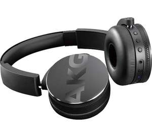 AKG C50BT (Same As Y50BT) Black Wireless Bluetooth Headphones, Ex-Retail Store Stock/Opened/Never Used £39.99 @ digital-save/ebay