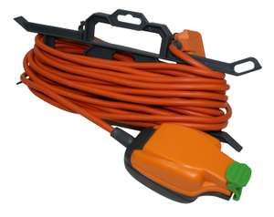 Masterplug Weatherproof Garden Tidy Extension Lead - 15m 10A £10 @ Wickes (free click and collect)