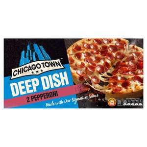 Chicago Town 2 Deep Dish Pizzas 2 x 160g (All Varieties) £0.89 @ Iceland