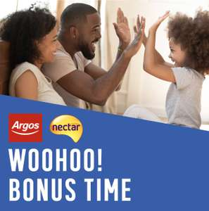 500 Nectar points when you spend £25 or 1000 points when you spend £50 on toys @ Argos
