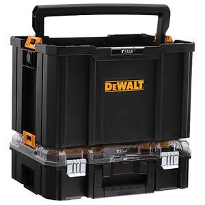 DEWALT DWST82957-1 TSTAK Combo Tote & Organiser Bundle £30 Wickes (free click and collect)