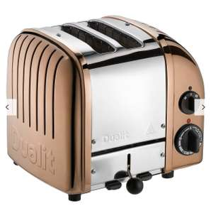 Dualit Classic 2-Slot Toaster - Copper  £89.99 Amazon