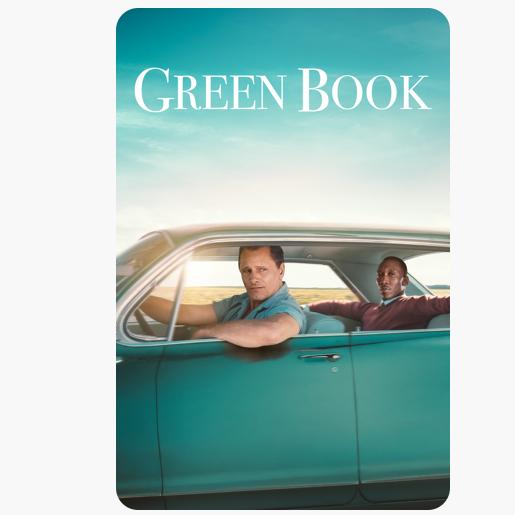 Green Book - iTunes 4K HDR Atmos £7.99