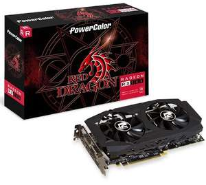PowerColor Radeon RX 580 Red Dragon 8GB £166.94 at CCL Online (Free Borderlands 3 and Game Pass)