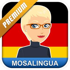 Learn German with MosaLingua Premium (Android) - Free @ Google Play