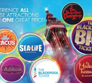 Back in stock Half price big ticket merlin Blackpool £23 @ Planet radio offers.