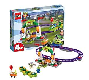 LEGO 10771 4+ Toy Story 4 Carnival Thrill Coaster with Buzz Lightyear and Alien Minifigures £11.99 prime / £16.48 non prime @ Amazon