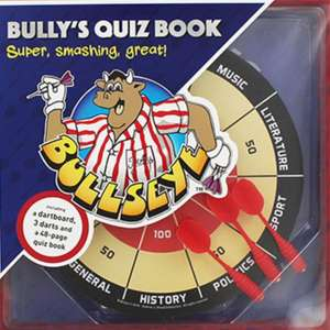 Bullseye Dartboard And Quiz Book Set £4.80 with code (free click & collect) @ The Works