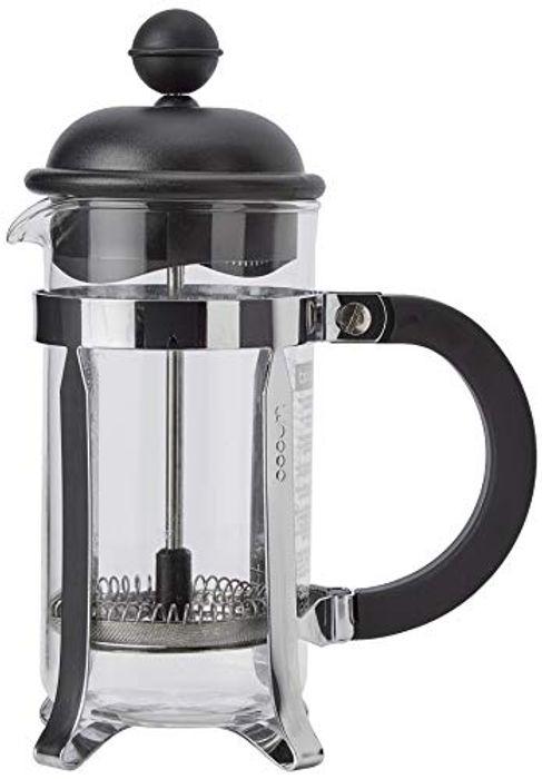 BODUM Caffettiera 3 Cup French Press Coffee Maker, Black, 0.35L £9.79 (Prime) / £14.28 (non Prime) at Amazon