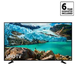 "Samsung 43"" 4K Smart TV - UE43RU7020 £324 + 6 year Guarantee £324  Delivered Using Code @ Richer Sounds"